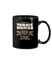 I Am A Yorkie Woman Mug thumbnail