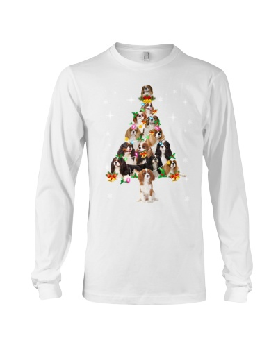 Cavalier King Charles Spaniel Christmas Tree