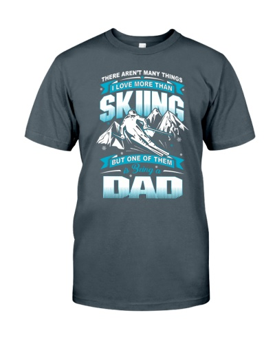 Skiing Dad