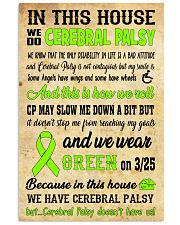 cerebral palsy house 16x24 Poster front