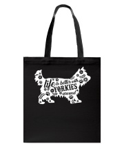 Life Is Better With Yorkies Tote Bag tile