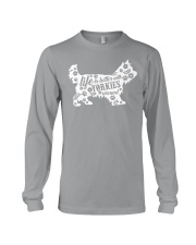 Life Is Better With Yorkies Long Sleeve Tee thumbnail