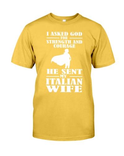 He Sent My Italian Wife