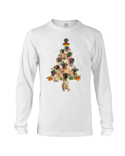Mastiff Christmas Tree