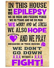 Epilepsy Fight House 24x36 Poster front