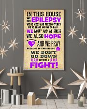 Epilepsy Fight House 24x36 Poster lifestyle-holiday-poster-1