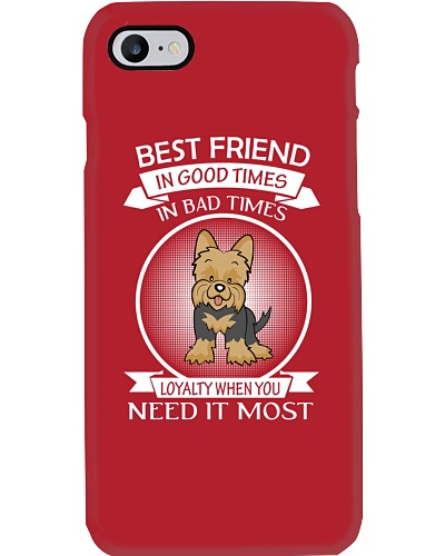 Yorkie Best Friend