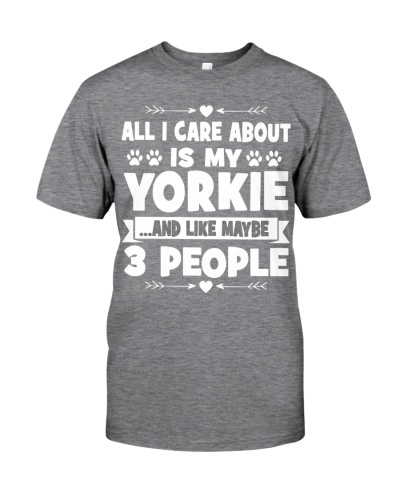 Yorkie 3 People