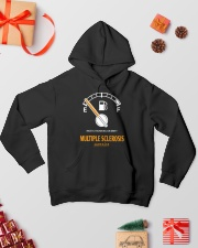 MS Mostly Running On Empty 2612 Hooded Sweatshirt lifestyle-holiday-hoodie-front-2