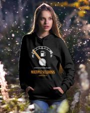 MS Mostly Running On Empty 2612 Hooded Sweatshirt lifestyle-holiday-hoodie-front-5