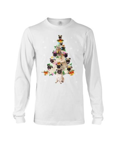 Pug Christmas Tree