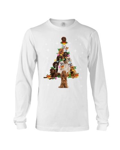Cocker Spaniel Christmas Tree