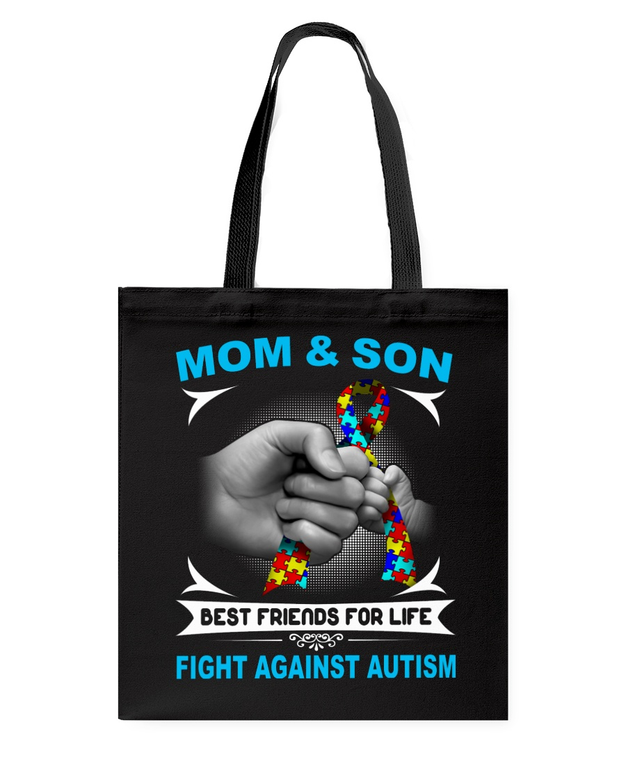 Autism Mom And Son Tote Bag