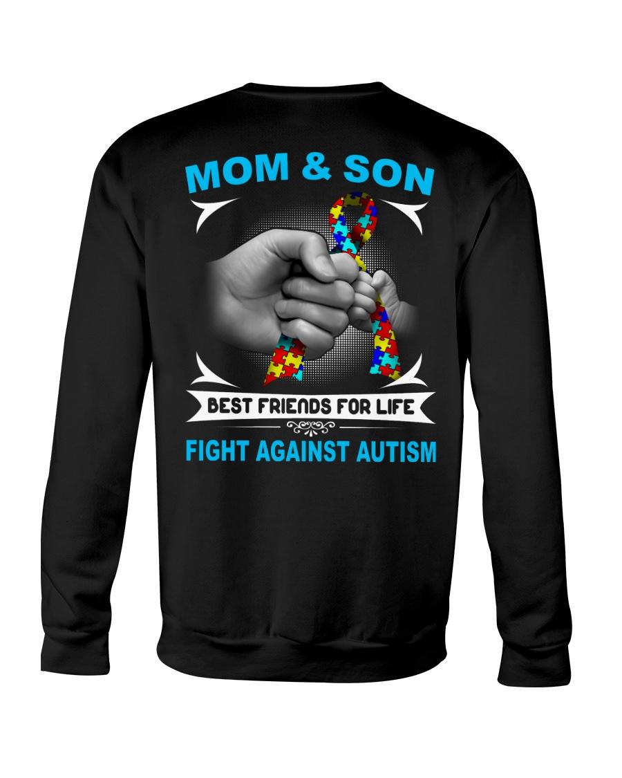 Autism Mom And Son Crewneck Sweatshirt