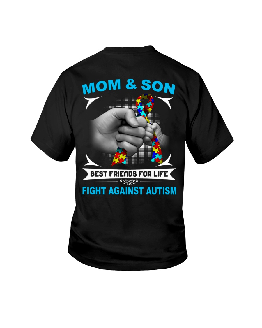 Autism Mom And Son Youth T-Shirt