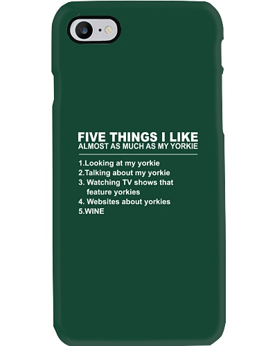 Yorkie Five Things
