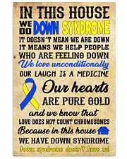 Down Syndrome In This House 24x36 Poster front