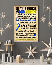 Down Syndrome In This House 24x36 Poster lifestyle-holiday-poster-1