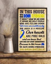 Down Syndrome In This House 24x36 Poster lifestyle-poster-3