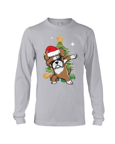 Boxer Cute Dabbing Christmas Shirt