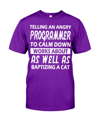 Programmer To Calm Down