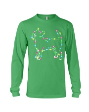 Christmas Lights Xmas Dog Chihuahua Long Sleeve Tee thumbnail