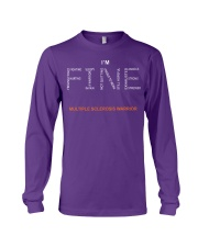 MS Warrior I'm Fine  Long Sleeve Tee tile
