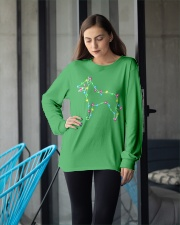 Christmas Lights Xmas Dog Belgian Malinois Long Sleeve Tee apparel-long-sleeve-tee-lifestyle-front-20