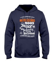 I Love Someone With MS To The Moon And Back Hooded Sweatshirt front