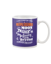 I Love Someone With MS To The Moon And Back Mug thumbnail