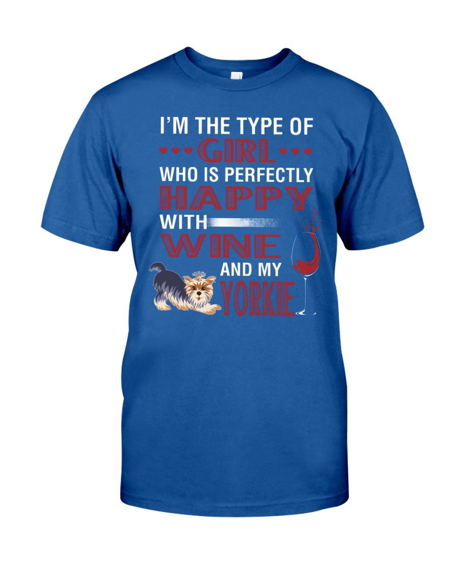 Yorkie Girl Classic T-Shirt