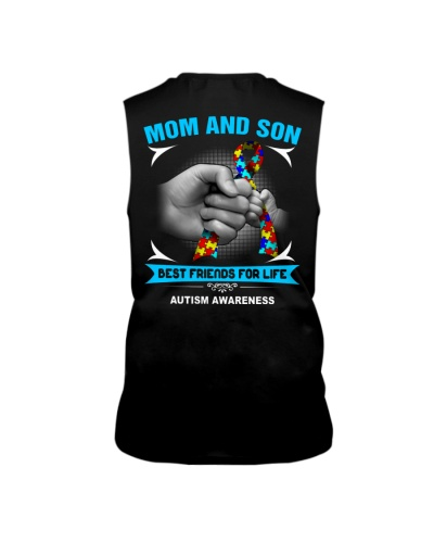 Autism Awareness Mom And Son