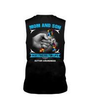 Autism Awareness Mom And Son Sleeveless Tee tile