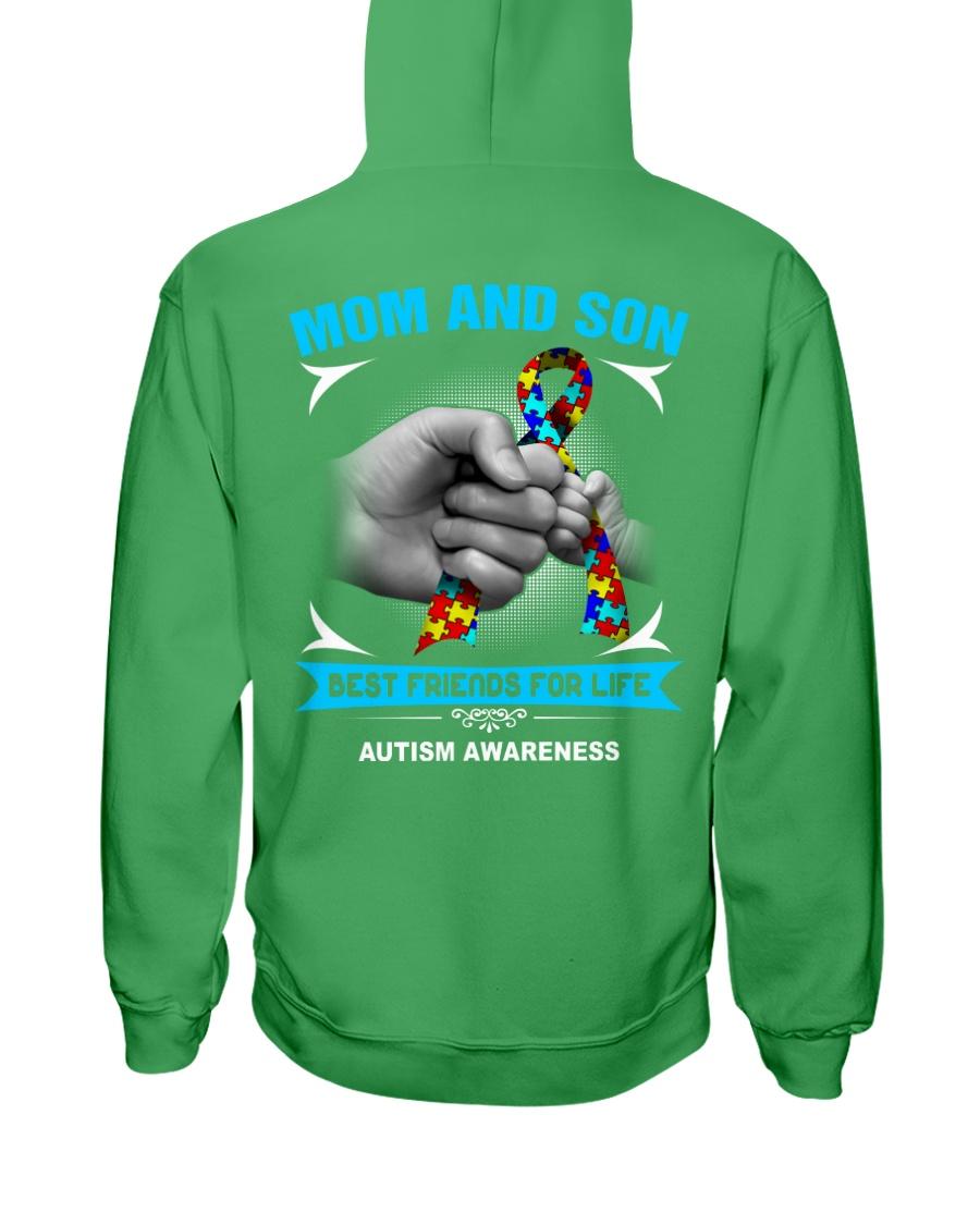 Autism Awareness Mom And Son Hooded Sweatshirt showcase