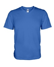 Autism Awareness Mom And Son V-Neck T-Shirt front