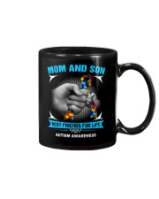 Autism Awareness Mom And Son Mug thumbnail