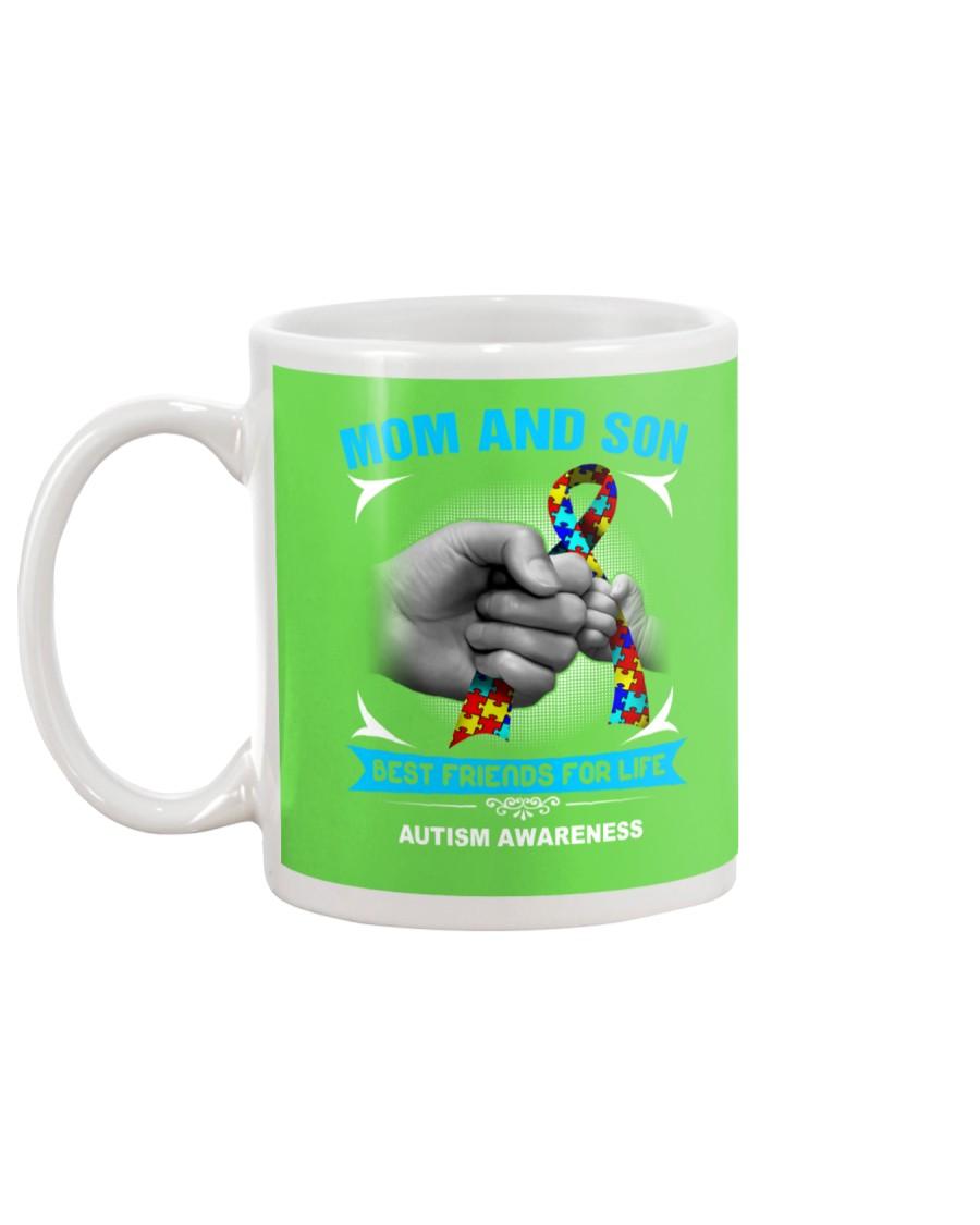 Autism Awareness Mom And Son Mug