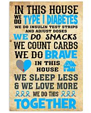t1d house 24x36 Poster front