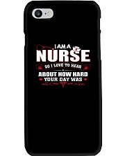I Am A Nurse Phone Case i-phone-7-case