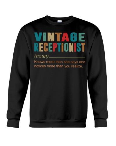 Vintage Receptionist
