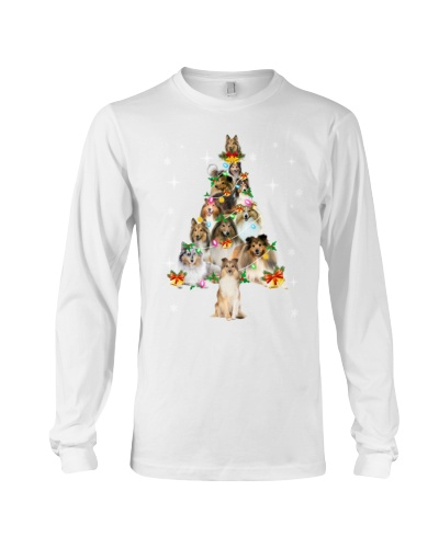 Shetland Sheepdog Christmas Tree