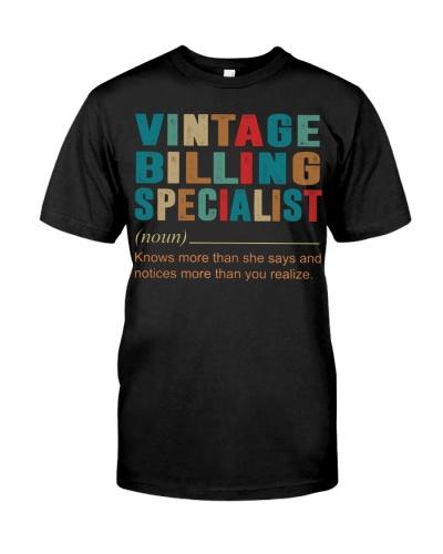 Vintage Billing Specialist