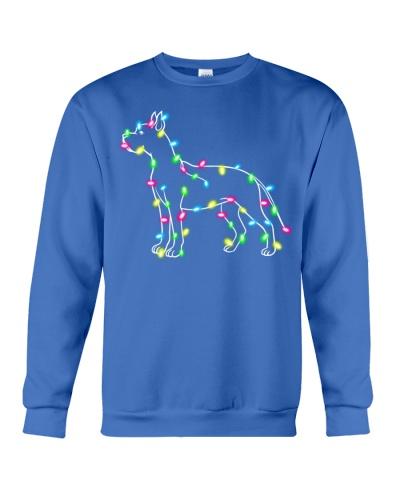 Christmas Lights Xmas Dog Great Dane