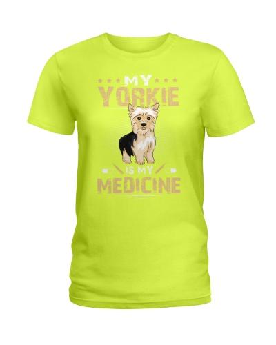 My Yorkie Is My Medicine