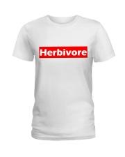 herbivore supr design Ladies T-Shirt front