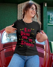 eat drink and be spooky Ladies T-Shirt apparel-ladies-t-shirt-lifestyle-01