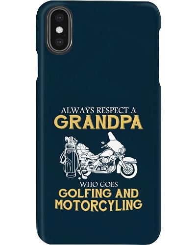 AR Grandpa Golfing Motorcycling