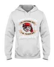 Talking to my cat T-Shirt Hooded Sweatshirt tile