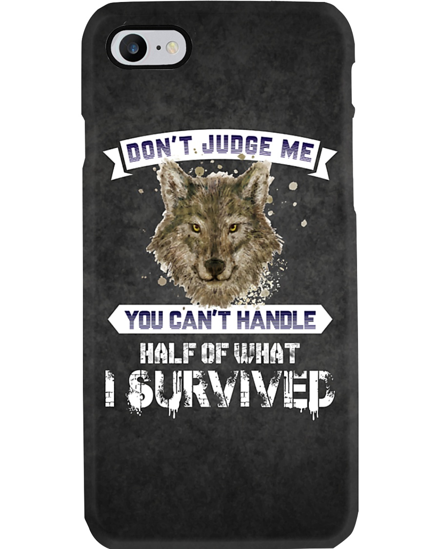 Don't Judge Me - Wolf iPhone And Android Case Phone Case