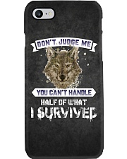 Don't Judge Me - Wolf iPhone And Android Case Phone Case i-phone-7-case